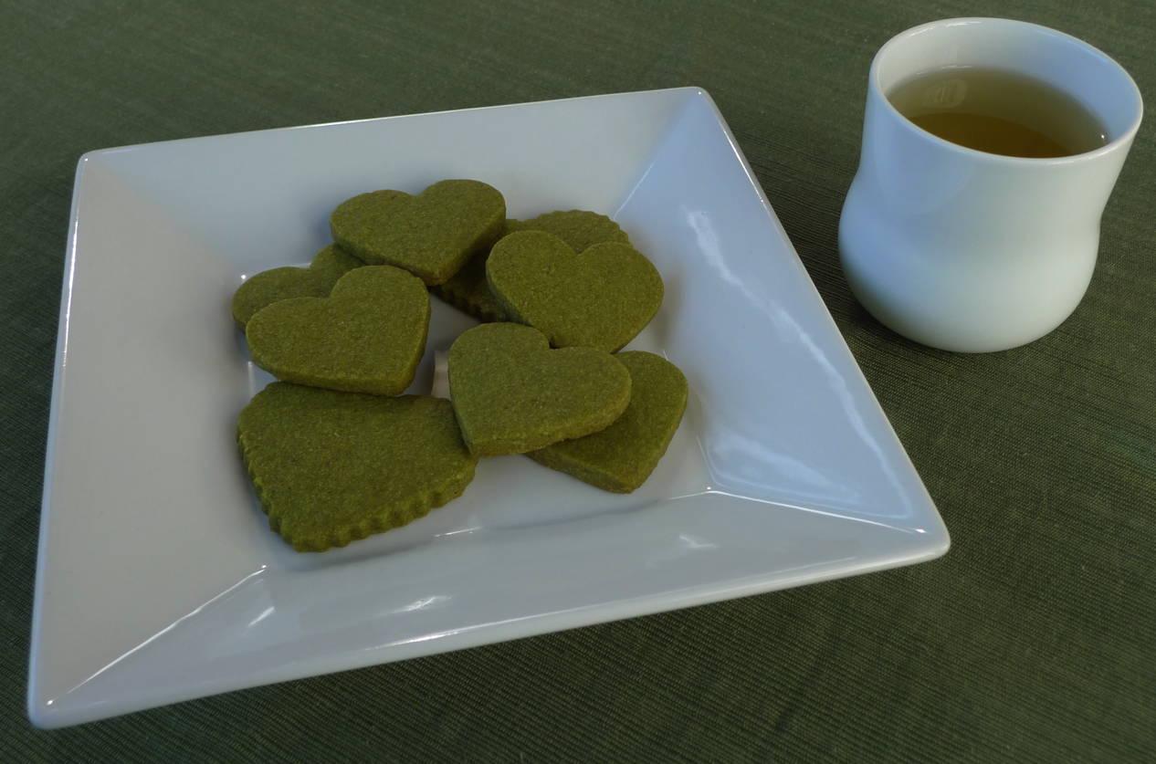 Happy White Day ~ Green Tea Shortbread – Noon Café