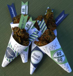 Nacho Cheese Kale Chips