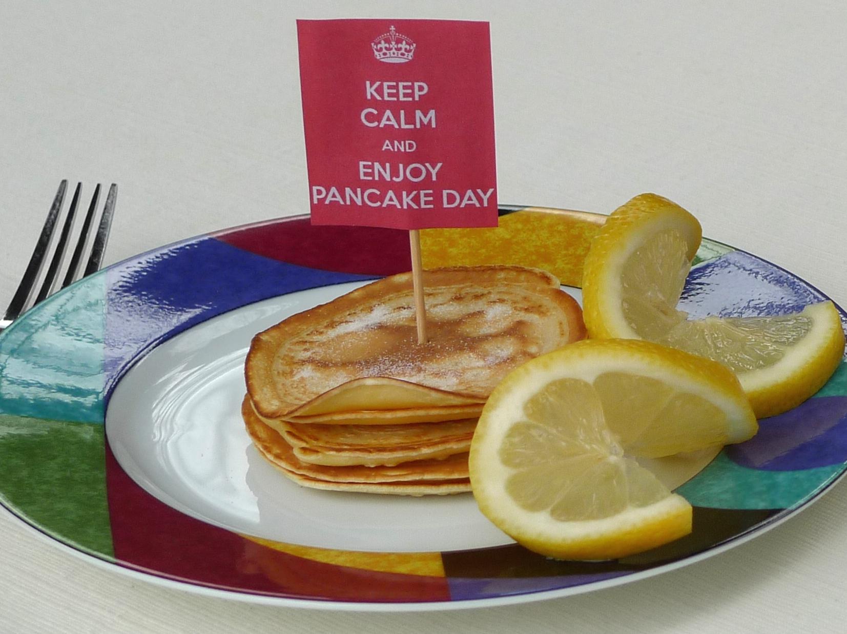 Shrove Tuesday Pancake Day Mini English Pancakes