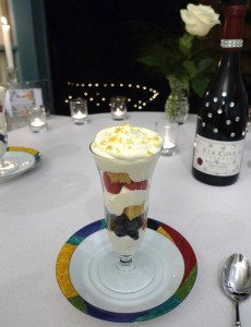 Lemon Syllabub Trifle