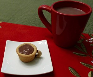 Peppermint Hot Cocoa Cup Cookies