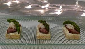 Steak Oscar Canapés