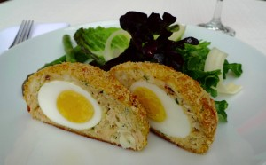 Crab Scotch Egg