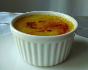 White Pepper Crème Brûlée