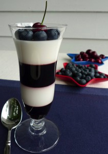 Red, White, and Blue Parfait
