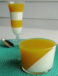 Orange and Cream Gelatin