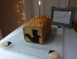 Hidden Surprise Squirrel Cake